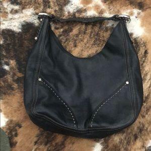 Francesco Biasia leather bag black